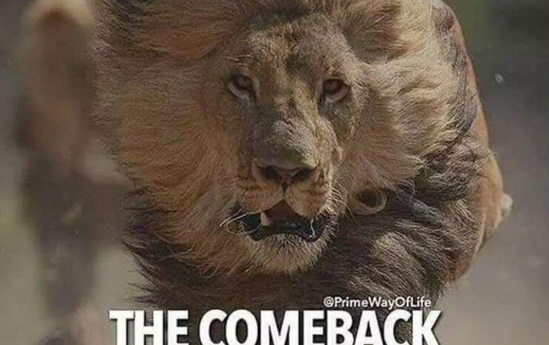 Setback for a Comeback